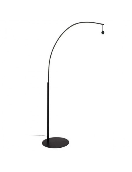 Arc - Support lampadaire noir mat