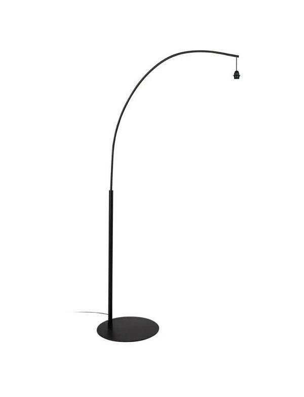 Arc - Support lampadaire noir mat