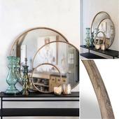 Tout en rondeur et intemporelle !  Notre collection de trois miroirs BARNES en bois de pin prendra facilement place dans votre intérieur 🥰 Disponible en 3 tailles : 33 cm / 58 cm / 72  cm